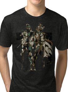 Metal Gear Solid - Solid & Liquid Snake Tri-blend T-Shirt