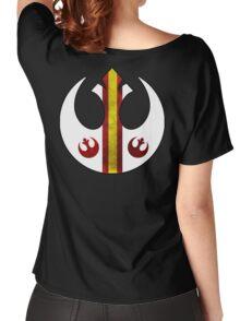 Rebel Alliance Starbird Flight Patern Women's Relaxed Fit T-Shirt
