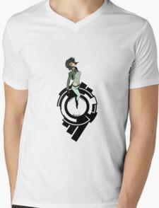Ghost in the Shell - Motoko Kusanagi Mens V-Neck T-Shirt