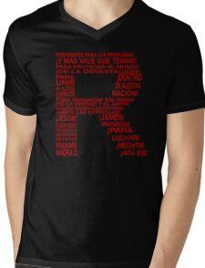 Camisa Equipo Rocket ( Team Rocket ) Mens V-Neck T-Shirt