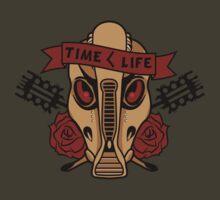 Time < Life by spazzynewton