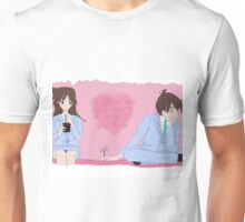 shinichi and ran - case of the stolen heart solved Unisex T-Shirt