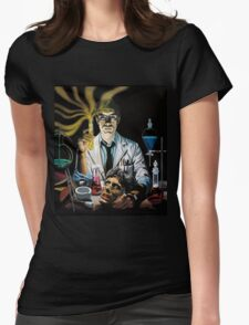 Re-Animator science fiction cover Womens Fitted T-Shirt