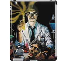 Re-Animator science fiction cover iPad Case/Skin