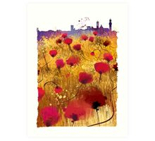 Siena skyline Art Print