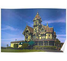 Historic Carson Mansion, Eureka, California Poster