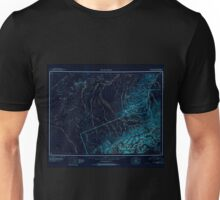 USGS TOPO Map Alaska AK Mount McKinley 361197 1952 250000 Inverted Unisex T-Shirt