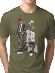 Soul Eater - Spirit Albarn & Franken Stein Tri-blend T-Shirt