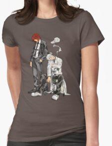 Soul Eater - Spirit Albarn & Franken Stein Womens Fitted T-Shirt