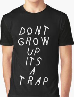 YUNG LEAN / TRAP (Black) Graphic T-Shirt