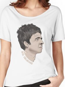 Noel Gallagher Illustrated Portrait Women's Relaxed Fit T-Shirt
