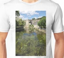 Abbey Mill, Bradford on Avon, Wiltshire, United Kingdom. Unisex T-Shirt