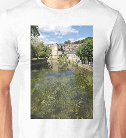 Abbey Mill, Bradford on Avon, Wiltshire, United Kingdom. Unisex T-Shirt