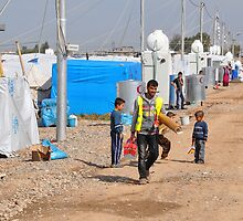Syrian Refugee Camp, Qustapa, KRG, Iraq 12-03-2014 - 3 by ChuckBrown