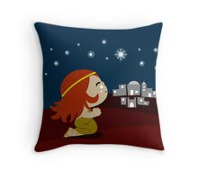 Mary Magdalene Throw Pillow