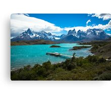 Salto Chico, Patagonia, Chile, Torres del Paine Canvas Print