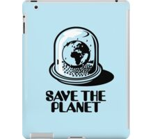 World Snow Globe - Save the Planet iPad Case/Skin