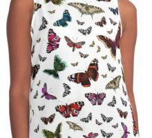 Beautiful Butterflies Contrast Tank