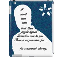 Paul Ballard iPad Case/Skin