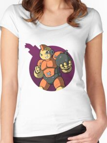 Bombman! Women's Fitted Scoop T-Shirt