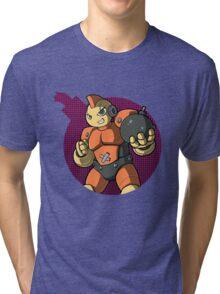 Bombman! Tri-blend T-Shirt