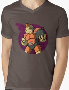Bombman! Mens V-Neck T-Shirt