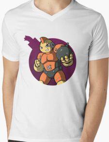 Bombman! Mens V-Neck T-Shirt