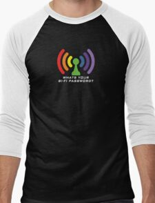 Bi-Fi (DARK BG) Men's Baseball ¾ T-Shirt