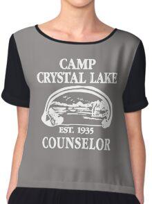 Camp Crystal Lake Counselor copy Chiffon Top