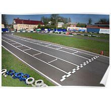 start line Tilt Poster