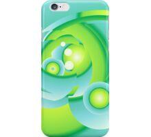 Green No. 1 iPhone Case/Skin