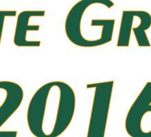 Vote Green 2016 Sticker