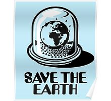 World Snow Globe - Save the Earth Poster