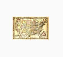Old American map Unisex T-Shirt