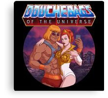 Douchebags of the Universe Canvas Print