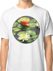 Water Lily Pond in Autumn Classic T-Shirt