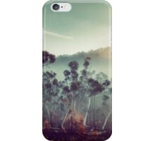 Sleeping under a blanket of fog iPhone Case/Skin