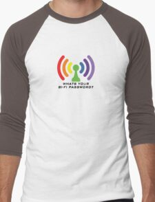 Bi-Fi (LIGHT BG) Men's Baseball ¾ T-Shirt