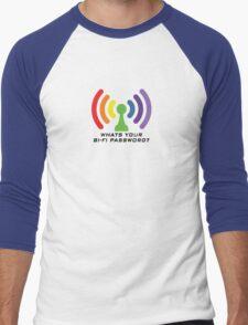 Bi-Fi (LIGHT BG) Men's Baseball ¾ T-Shirt