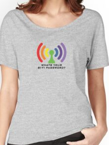 Bi-Fi (LIGHT BG) Women's Relaxed Fit T-Shirt