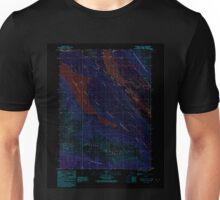 USGS TOPO Map Alaska AK Skagway B-3 SE 353818 1991 25000 Inverted Unisex T-Shirt