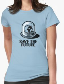 World Snow Globe - Save the Future Womens Fitted T-Shirt