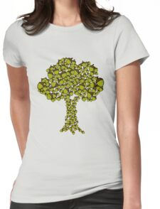 Little things, super acorns Womens Fitted T-Shirt