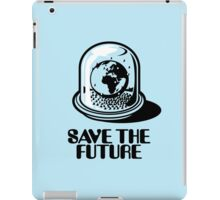 World Snow Globe - Save the Future iPad Case/Skin