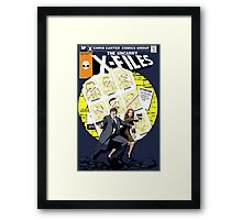 The Uncanny X-Files Framed Print