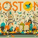 WILD BOSTON by JazzberryBlue