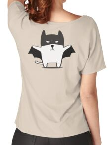 Batman Cat Women's Relaxed Fit T-Shirt
