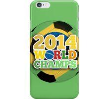 2014 World Champs - Bra iPhone Case/Skin