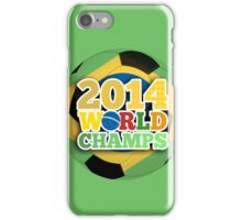 2014 World Champs - Bra iPhone Case/Skin
