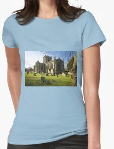 Edington Priory Church, Wiltshire, UK Womens Fitted T-Shirt